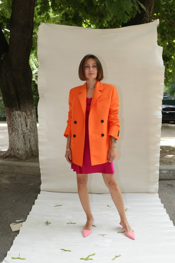 Пиджак оранж