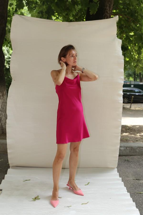 Платье комбинация короткое