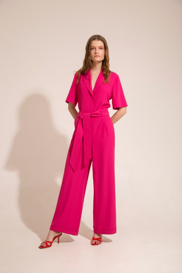 One piece suit pink