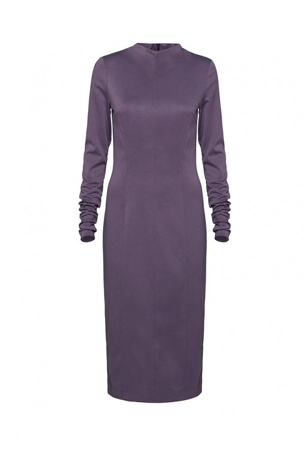 Dress pencil purple
