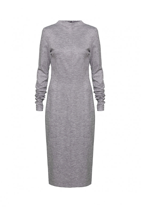 Dress pencil grey